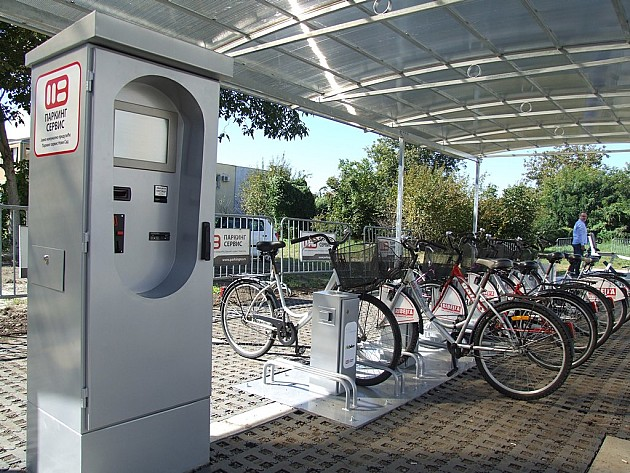 I stanovnici Telepa od danas imaju NS bike stanicu