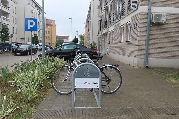 Nova parkirališta za bicikle