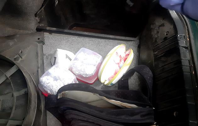 Novosadska policija zaplenila više od kilogram narkotika