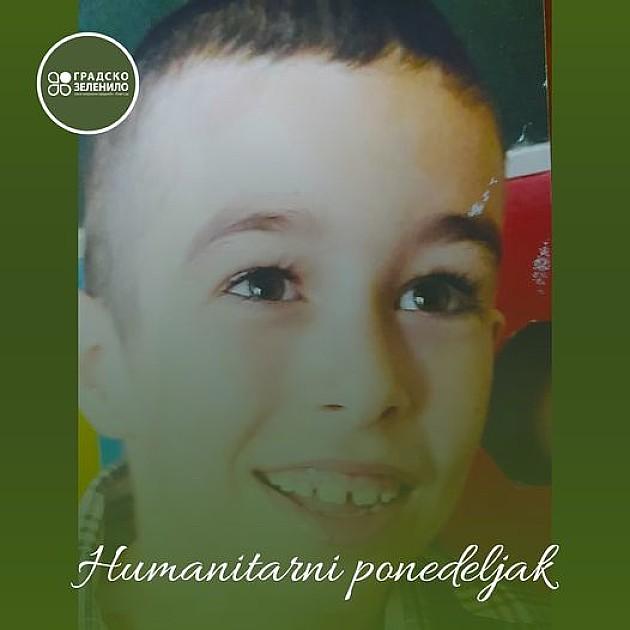 """Humanitarni ponedeljak"" na Štrandu za devetogodišnjeg Pavlov Danila"