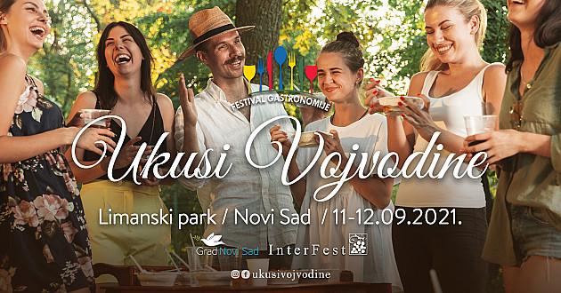 Festival Ukusi Vojvodine ovog vikenda u Limanskom parku