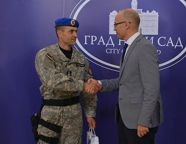 Poručnik i rekorder Trivunović: Novosađani se mogu osećati bezbedno