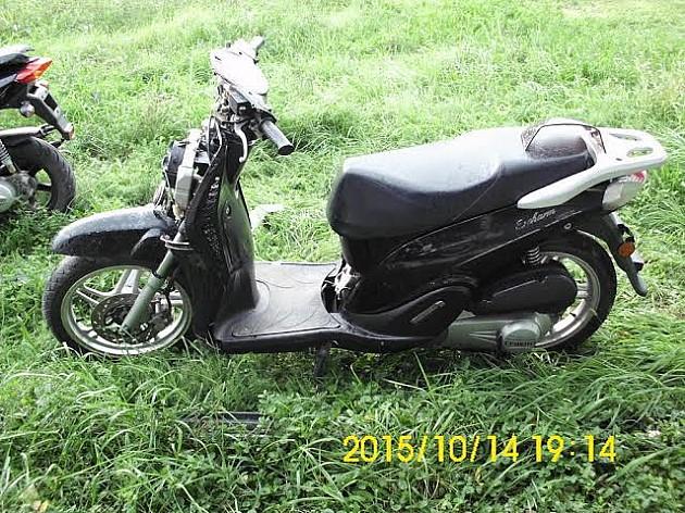Policija traži vlasnika ukradenog motocikla