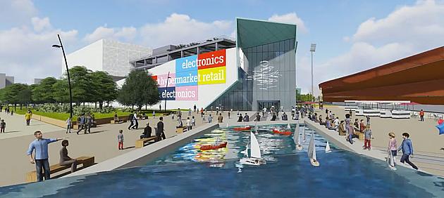 Ovako će izgledati novi tržni centar kod Spensa