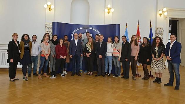 Mladi iz 15 zemalja Jugoistočne Evrope u poseti Novom Sadu