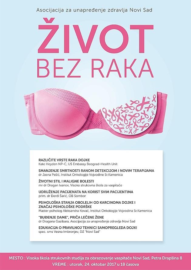 Sve o prevenciji i ranom otkrivanju raka dojke