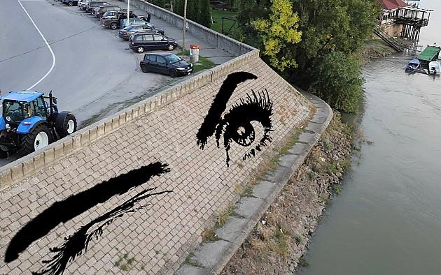 U Novom Sadu se crtaju privremeni murali