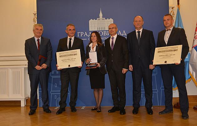 Uručena gradska priznanja zaslužnim građanima i institucijama