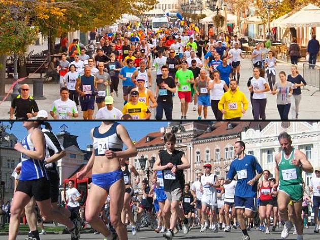 Novosadski maraton u nedelju, 14. oktobra