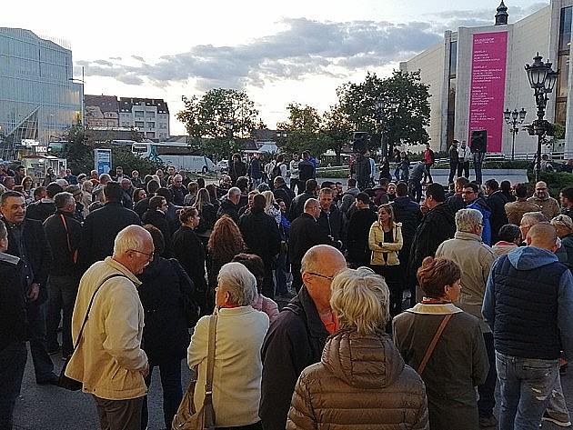 Sutra novi protest protiv režima u Novom Sadu