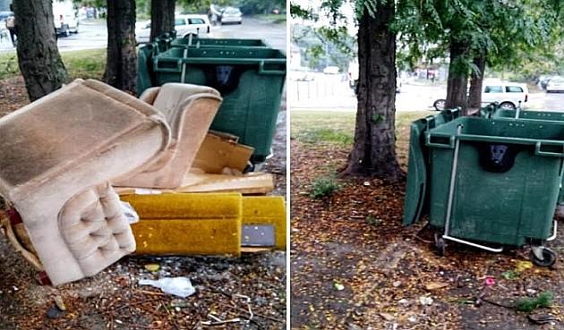 Uklonjeno više od 20 tona otpada sa divljih deponija