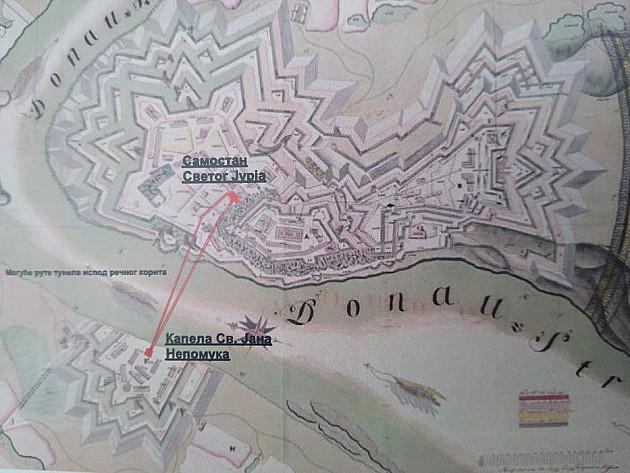 Otkriven tajni tunel ispod Dunava