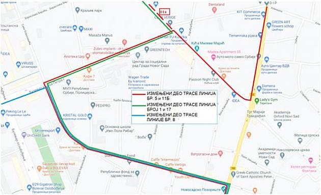 Izmenjen režim saobraćaja u Jovana Subotića