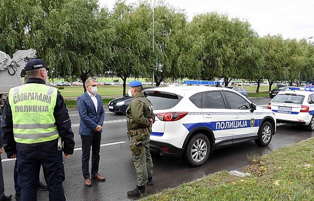 Direktor policije pohvalio rezultate novog rukovodstva Policijske uprave Novi Sad