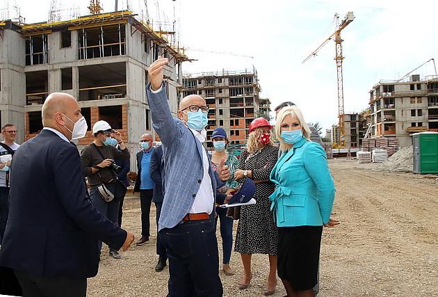 Izgradnjom stambenih blokova za bezbednjake Jugovićevo dobija novo ruho