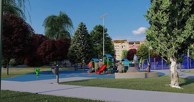 Do kraja godine Novo naselje dobija preuređeno igralište i teretanu
