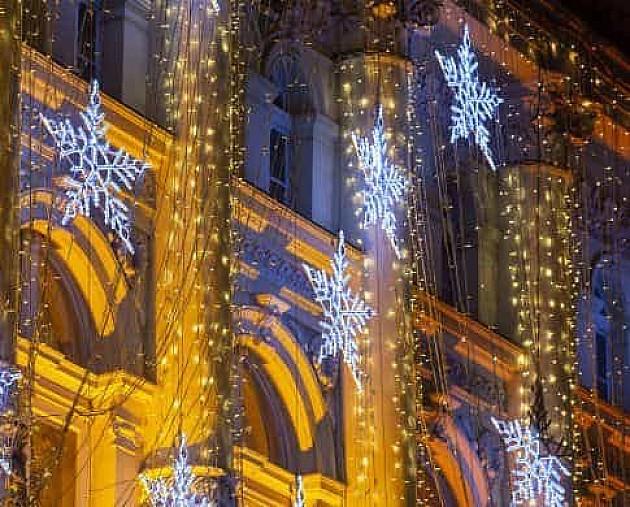 Za novogodišnju rasvetu izdvaja se 14,8 miliona dinara