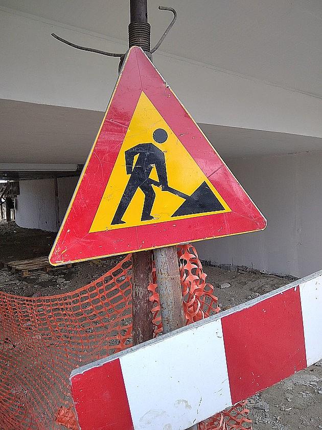 Radovi menjaju režim saobraćaja u Hilandarskoj ulici
