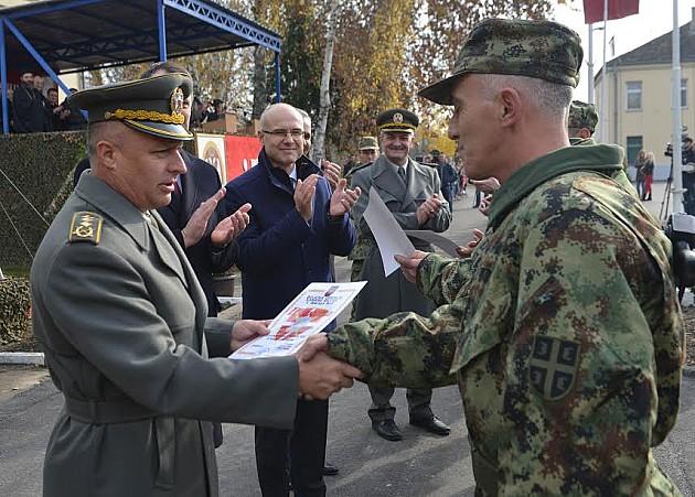 Obeležen Dan 1. brigade Kopnene Vojske