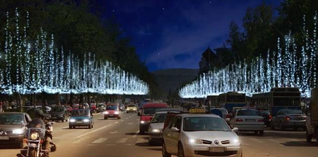 Počelo novogodišnje ukrašavanje Novog Sada
