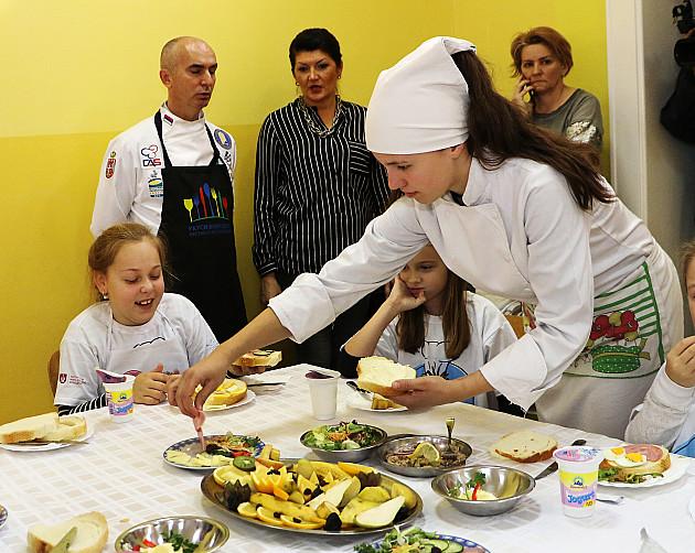 Budući kuvari spremali zdrave obroke