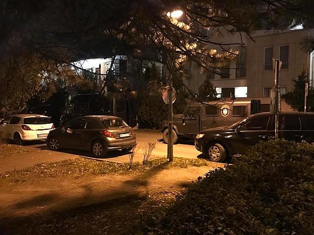 Policija blokirala kuću Radoslava Cvijovića, uhapšena jedna osoba