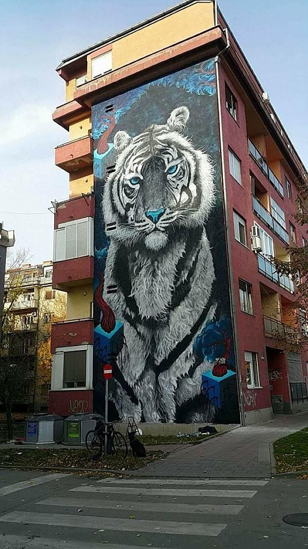 Uskoro novi mural u Novom Sadu
