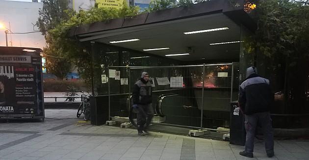 Podzemni prolaz zatvoren do 15. decembra