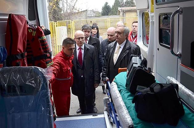 Zavodu za hitnu medicinsku pomoć dodeljeno pet vozila