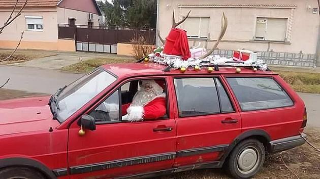 Braća iz Futoga Deda Mrazovi volonteri