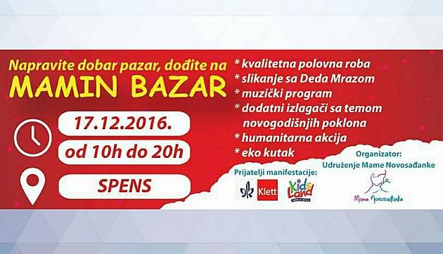 """Mamin bazar"" i razmena zimske opreme sutra na Spensu"