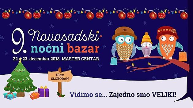 Deveti Novosadski noćni bazar za vikend u Master centru