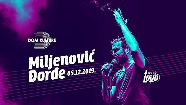 Đorđe Miljenović, poznatiji kao Wikluh Sky, u četvrtak u Domu kulture