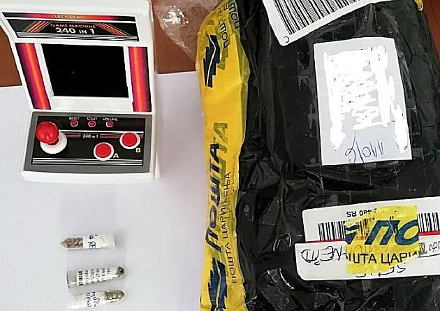 Različita droga u paketima iz inostranstva u pošti u Novom Sadu