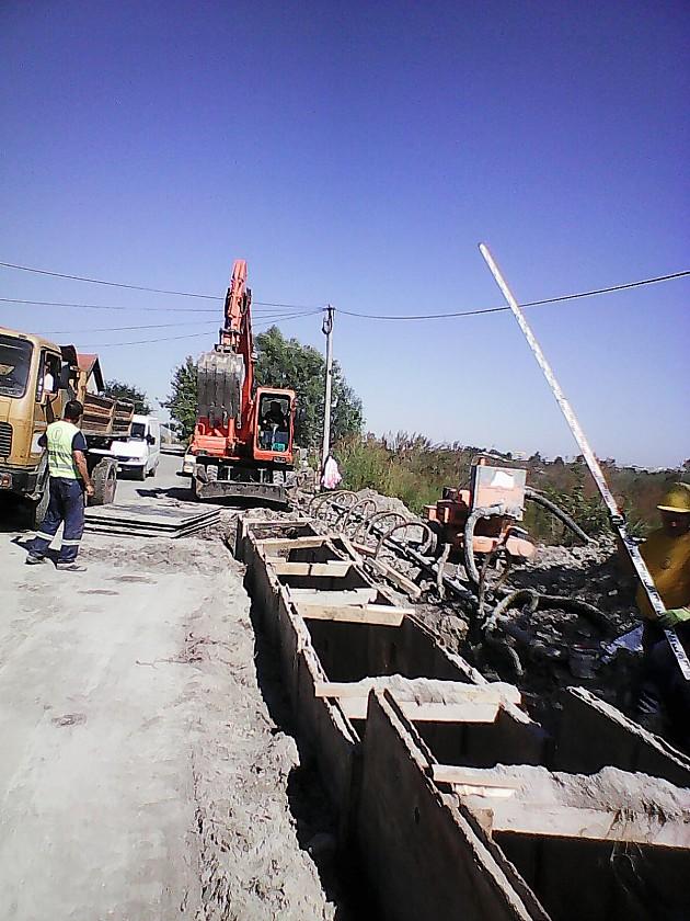 Radovi na izgradnji kanalizacione mreže na Klisi
